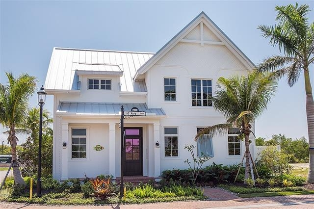 New Construction Mangrove Bay Naples Florida Featured Home