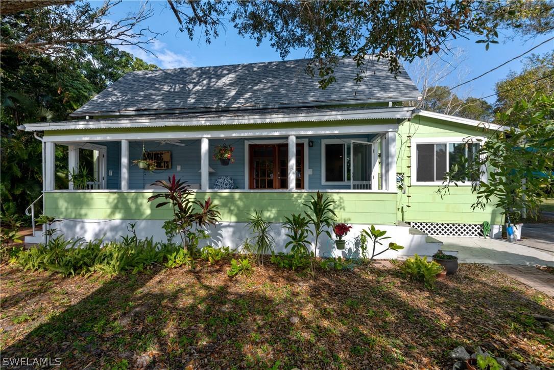Evans James Homstead, Fort Myers, florida