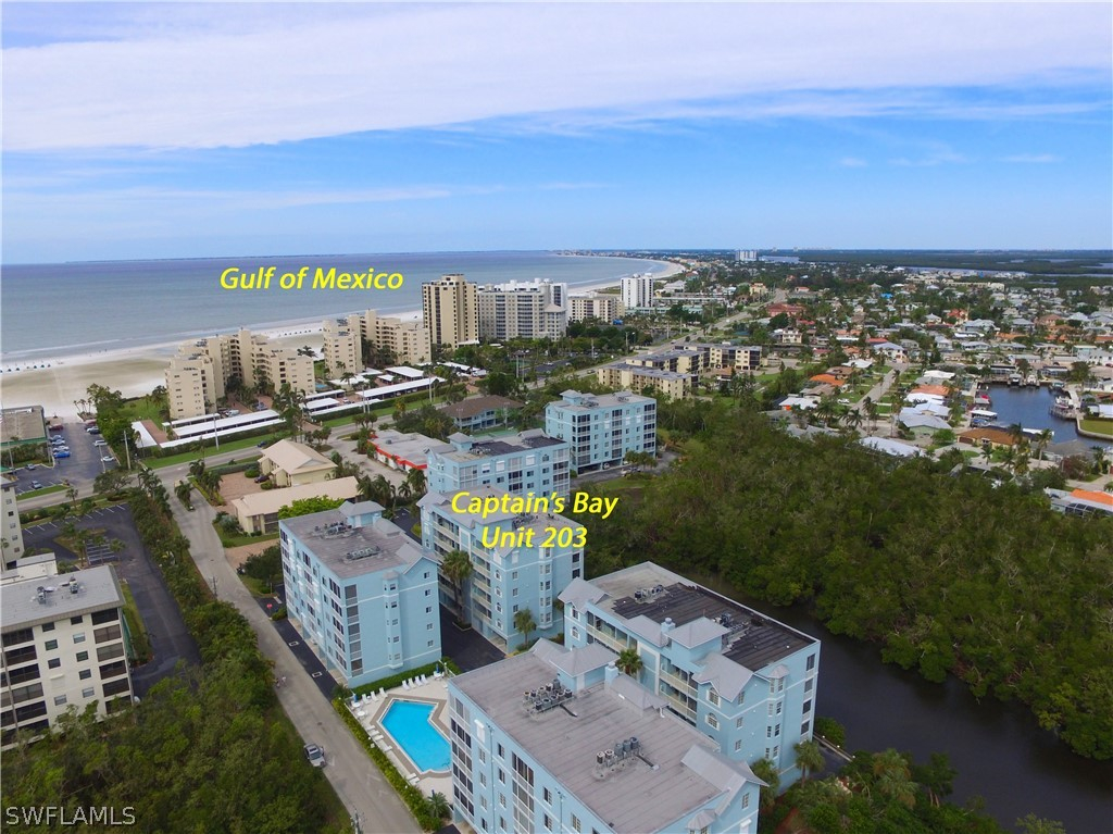 Captains Bay, Fort Myers Beach, Florida Real Estate